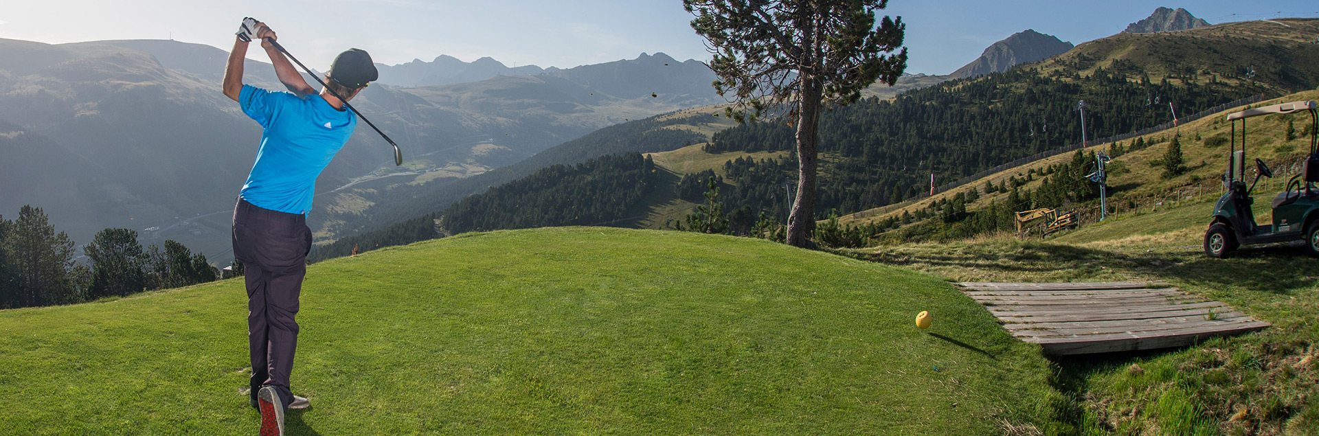 Hotel con green fee a Grandvalira Golf Soldeu incluido